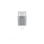 Led Sharp Bipin G4 12 V 2,5 W 3000 K